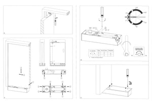 Hydraulic Floor Door Closer EN 1 - 4 - QIC Ironmongery
