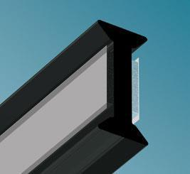 "Glass To Glass Joints - ""Straight"" - QIC Ironmongery"