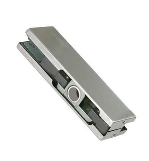 Top Patch Glass Door - Stainless Brushed - QIC Ironmongery