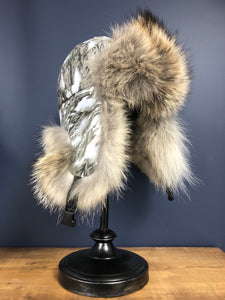 TRAPPER HAT w/ COYOTE FUR TRIM - MEN