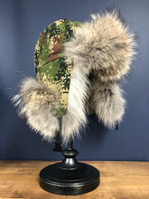 Load image into Gallery viewer, TRAPPER HAT w/ COYOTE FUR TRIM - MEN