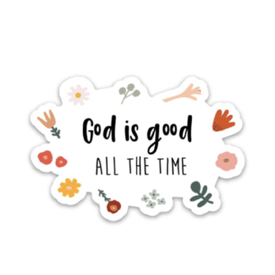God Is Good Sticker - swaygirls