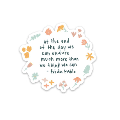 Frida Kahlo Quote Sticker - swaygirls