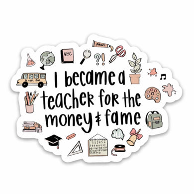 FUNNY TEACHER | Sticker
