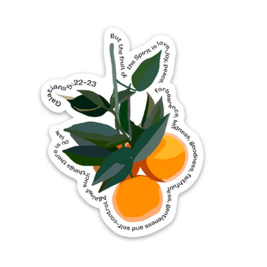 FRUIT OF THE SPIRIT | Sticker - Fruit Depiction