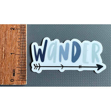 Load image into Gallery viewer, wander sticker