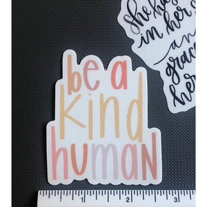 BE A KIND HUMAN | Sticker