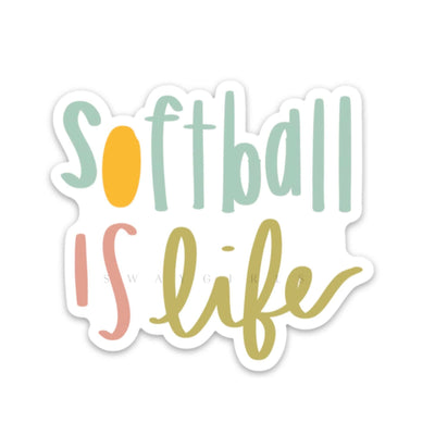 SOFTBALL IS LIFE - swaygirls