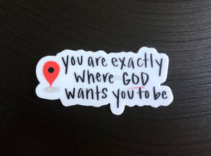 WHERE GOD WANTS YOU TO BE - swaygirls