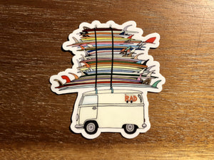 RAD SURF BUS | Sticker
