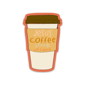 Coffee | Jesus | Sleep
