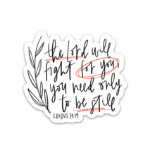 Load image into Gallery viewer, EXODUS 14:14 | Hand Lettering