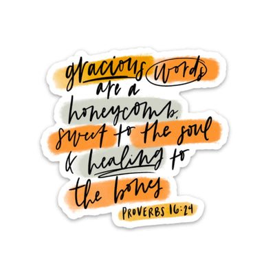 PROVERBS 16:24 | Pastel Highlights - swaygirls