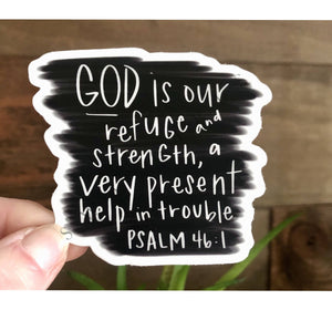 PSALM 46:1 | Refuge & Strength