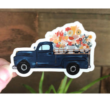 Load image into Gallery viewer, OLD SCHOOL TRUCK & FLOWERS
