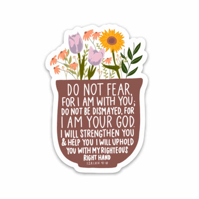ISAIAH 41:10 | Sticker - swaygirls