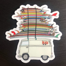 Load image into Gallery viewer, RAD SURF BUS | Sticker