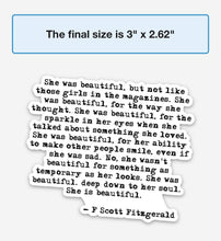 Load image into Gallery viewer, F SCOTT FITZGERALD - swaygirls