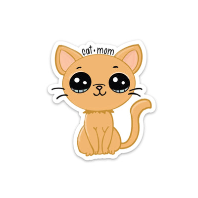 Cat Mom Sticker - swaygirls