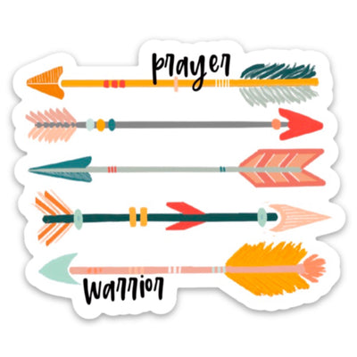 Prayer Warrior Sticker - swaygirls