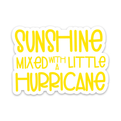 Sunshine & Hurricane Sticker - swaygirls