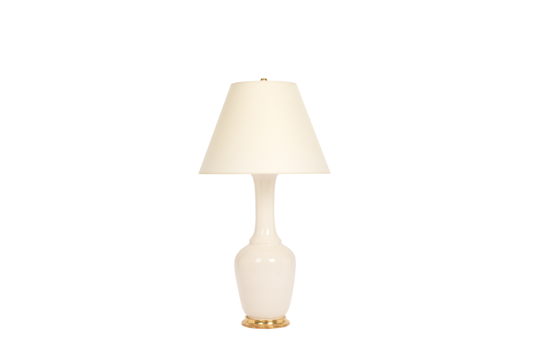 Alex Lamp in Blanc de Chine