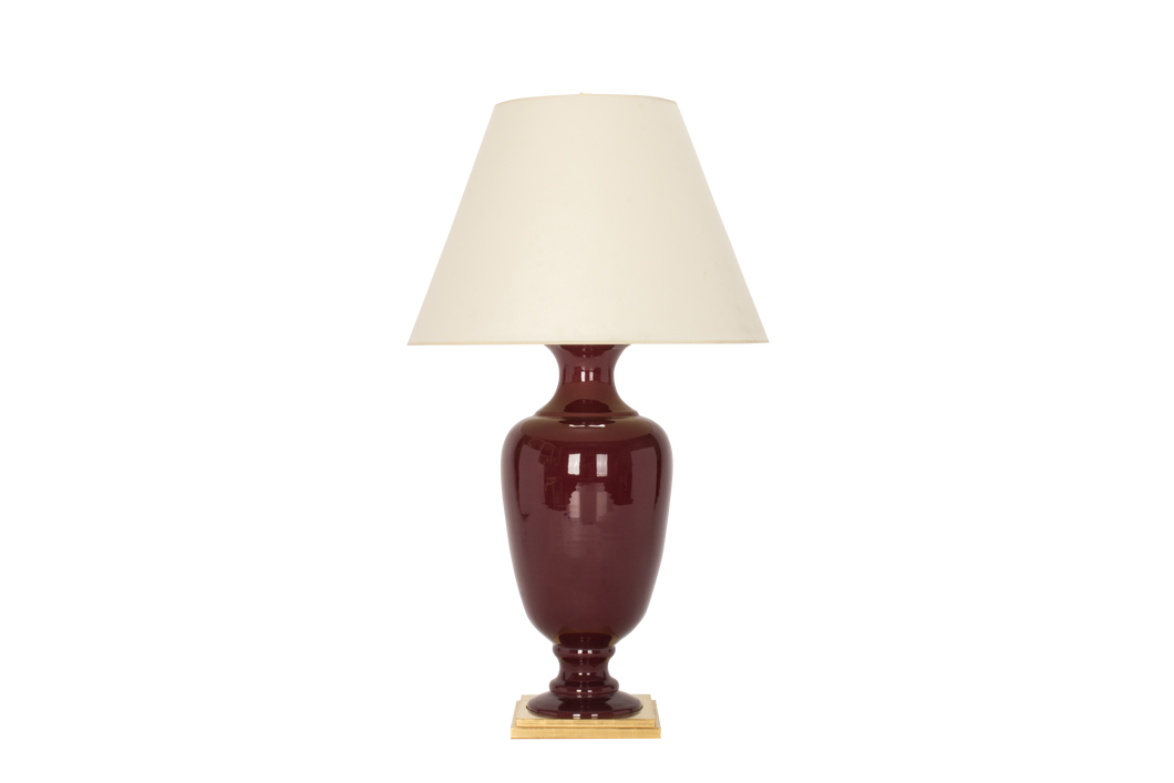 Ophelia Lamp in Claret