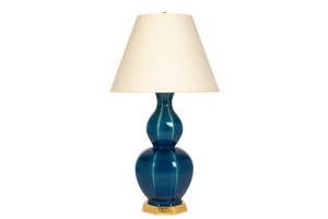 Alexander Large Lamp in Prussian Blue