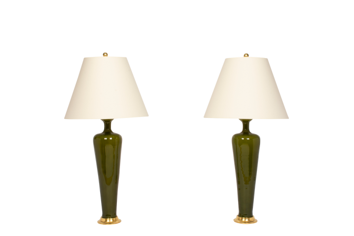 Anthony Medium Lamp Pair in Spruce