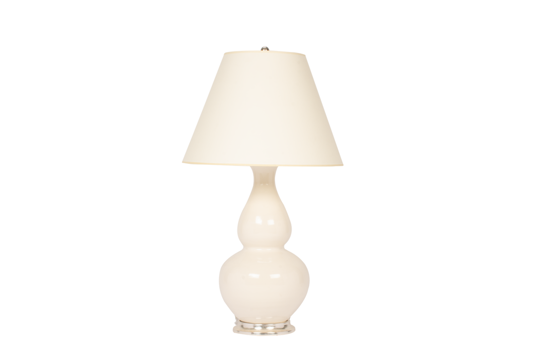 Aurora Lamp in Blanc de Chine
