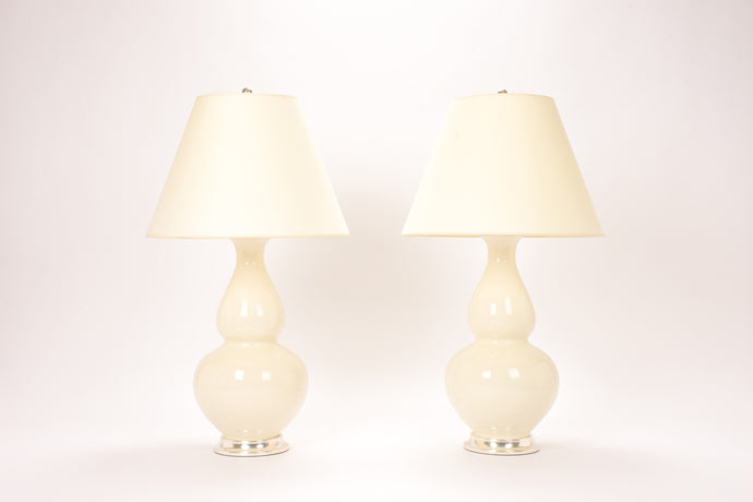 Aurora Lamp Pair in Clear