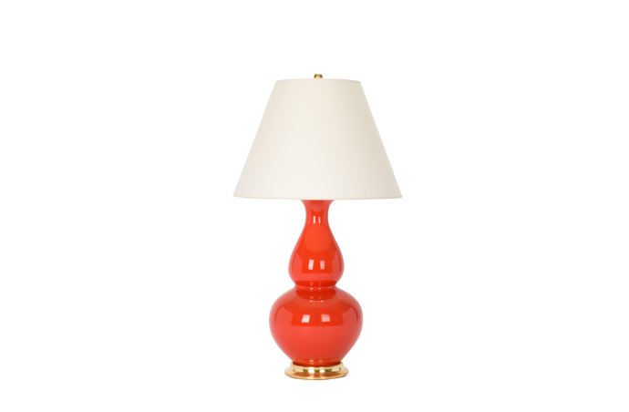 Aurora Lamp in Coral