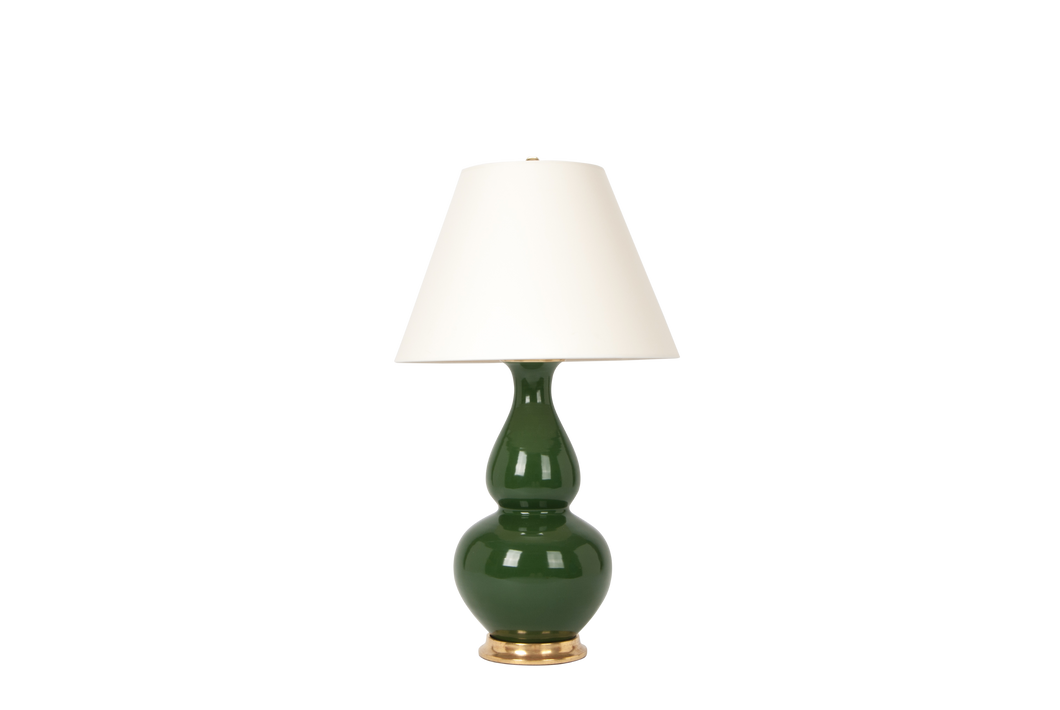 Aurora Lamp in Dark Green