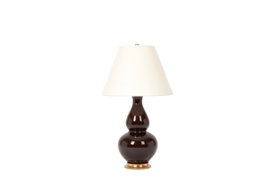 Aurora Lamp in Walnut