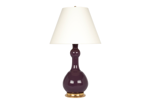 Cameron Lamp in Aubergine