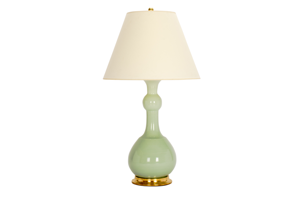 Cameron Lamp in Blue Celadon