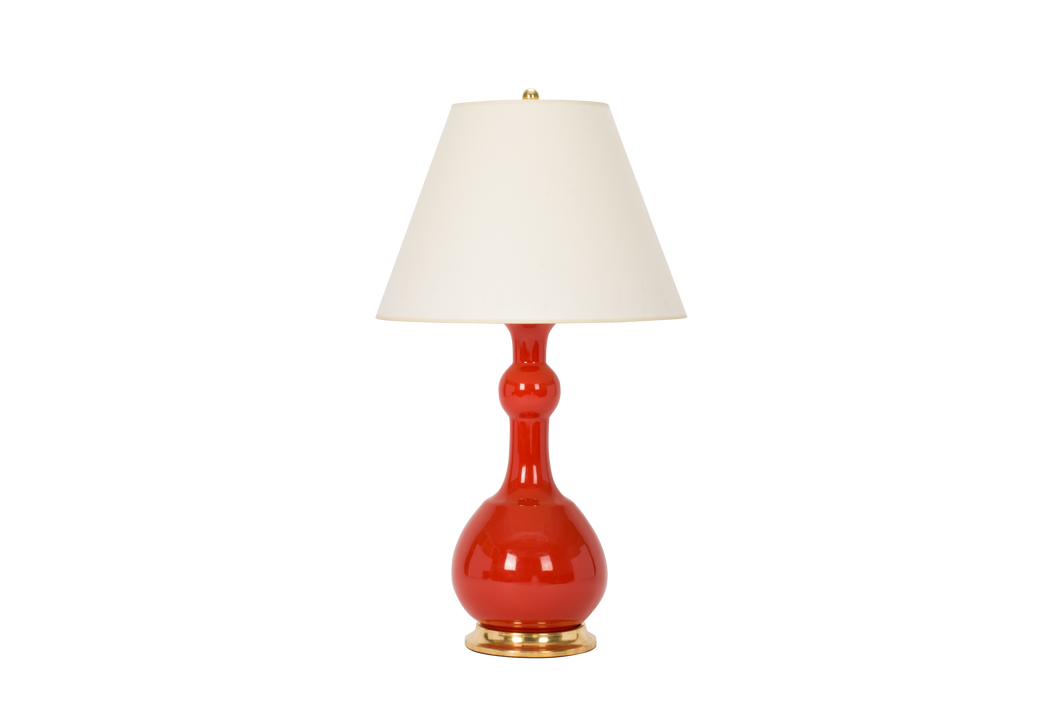 Cameron Lamp in Coral