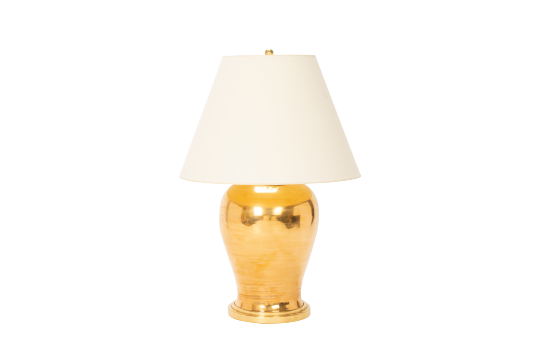 Karen Lamp in Gold Luster