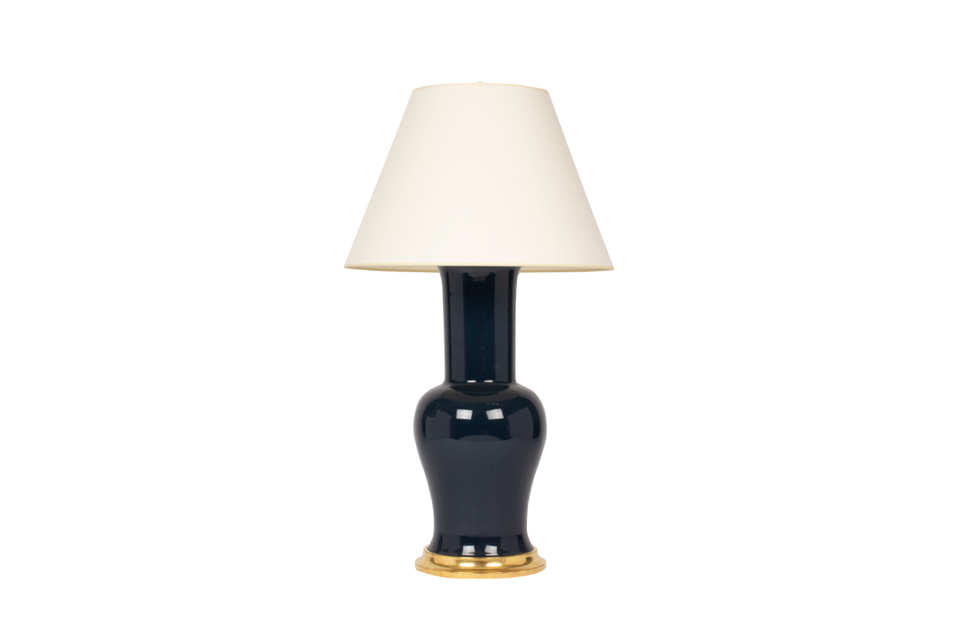 Garniture Lamp in Navy