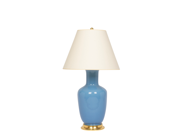 Ginger Jar Lamp in Cornflower
