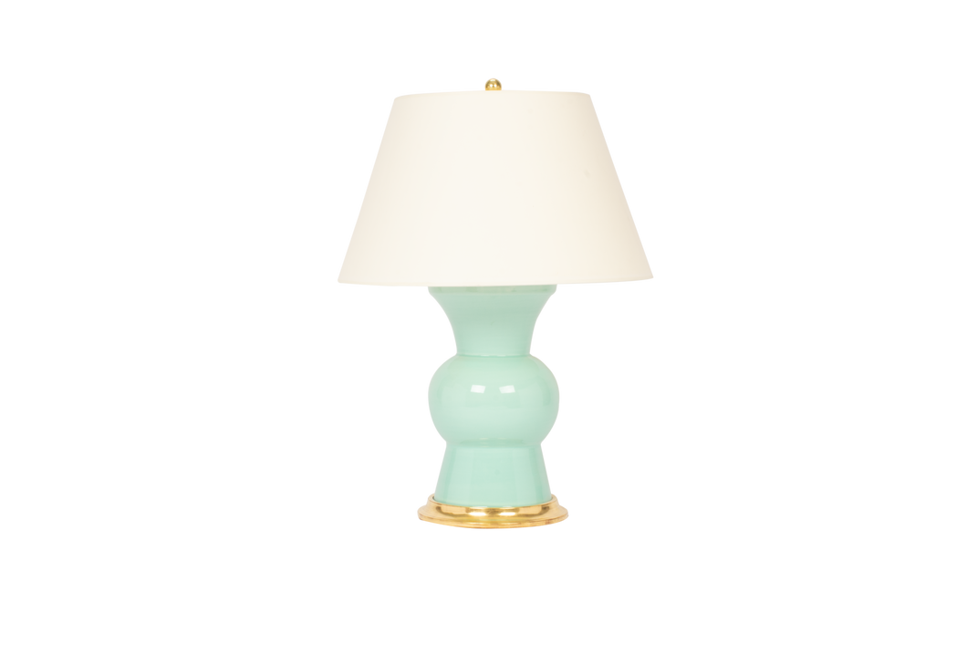 Gregory Lamp in Pale Blue Green