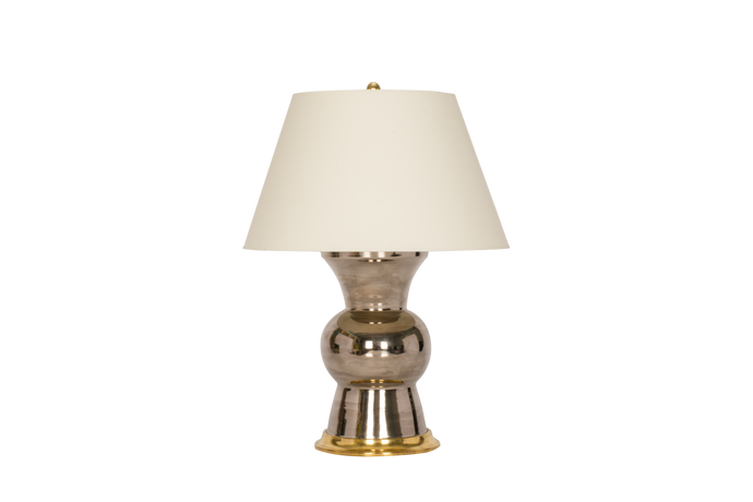 Gregory Lamp in Platinum Luster