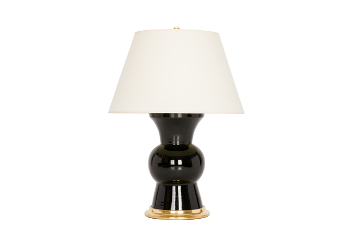Gregory Lamp in Jet Black