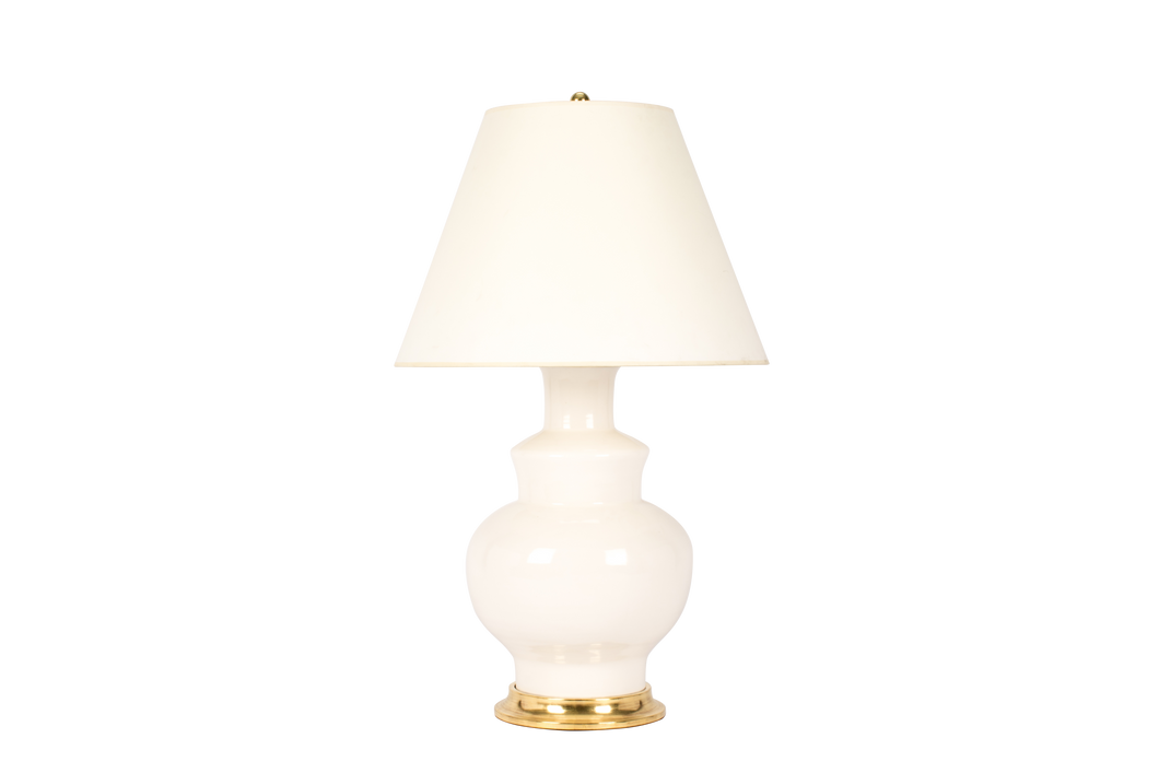 Kim Lamp in Blanc de Chine