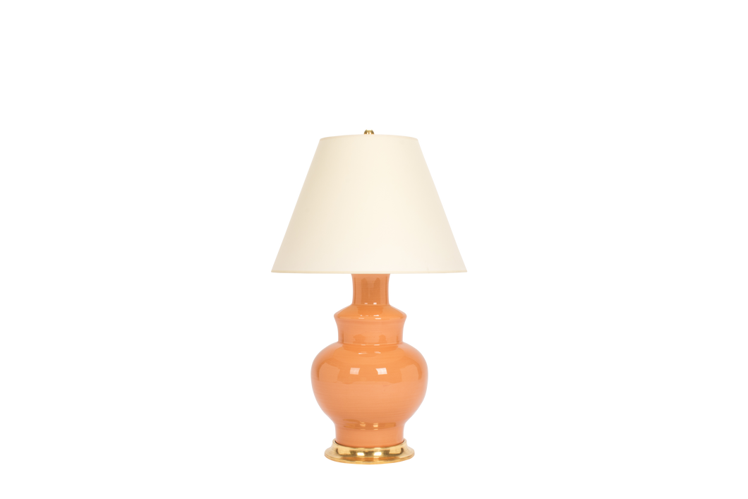 Kim Lamp in Peach