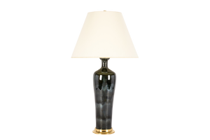 Anthony Large Lamp in Alligator Green