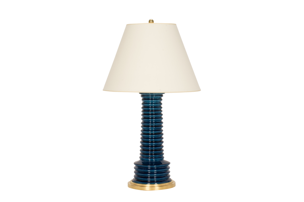 Harry Lamp in Prussian Blue