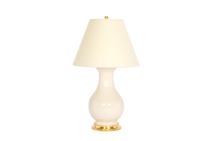 Hann Large Lamp in Blanc de Chine