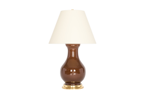 Hann Large Lamp in Espresso