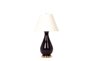 Louisa Large Lamp in Purple